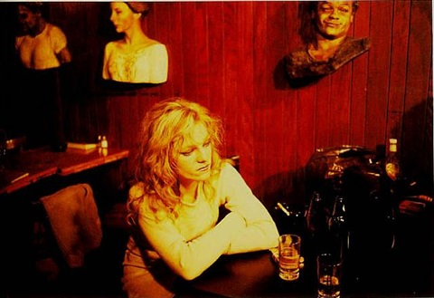 cookie in tin pan alley, new york city by nan goldin