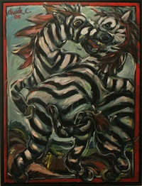zebras by chuck connelly