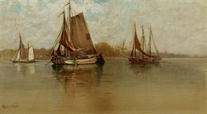 dutch inlet by francis hopkinson smith