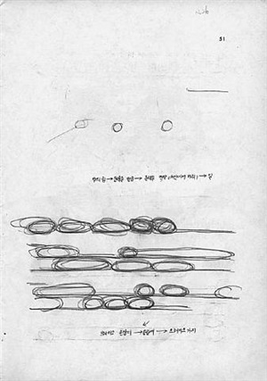 spuren anonymer schülerautoren / traces of anonymous pupil authors by haegue yang