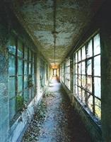 corridor # 9, island # 3, ellis island by stephen wilkes