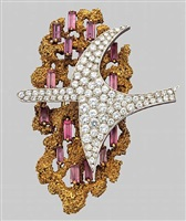eosphoros<br>an important art jewel brooch by georges braque