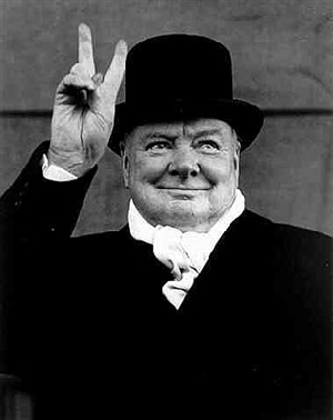 winston churchill, liverpool by alfred eisenstaedt