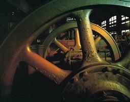 vintage flywheels, bethlehem steel by stephen wilkes