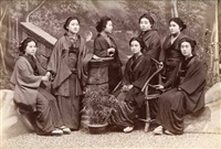 a group of japanese women by lai fong