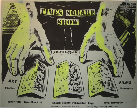 times square poster by jane dickson and charlie ahearn