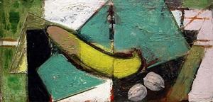 banana still life by alfred henry maurer