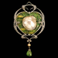 an impressive belle epoque brooch by fonseque et olive