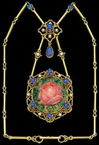rose pendant by nelson & edith dawson