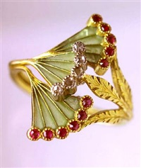 art nouveau ring by georges fouquet