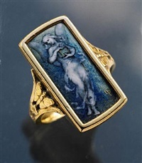 exceptional 'pandora' ring by paul grandhomme