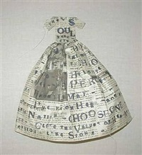 small poem dress by lesley dill