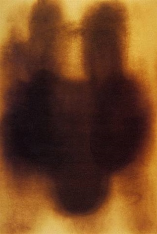 fire painting, untitled by yves klein