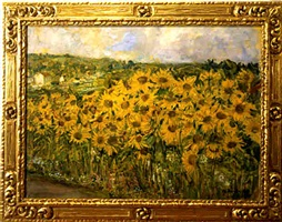 sunflowers - sold by ethel a wallace