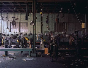 welfare room, bethlehem steel by stephen wilkes