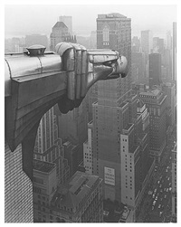 from the chrysler building by george tice