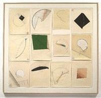 twelve drawings iii by tony delap