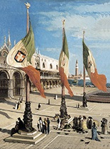 het san marco plein te venetië by andré hennebicq