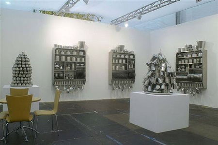 frieze art fair regents park, london - stand b20 by subodh gupta
