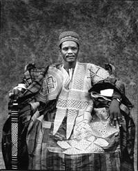larlé naba tigré, ministre de sa majeste le mogho naba, mossi by jean-dominique burton