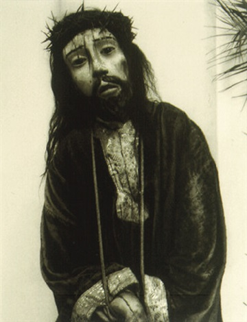 cristo with thorns - huexotla (photograph copyright ©1940 by the aperture foundation, inc., paul strand archive) (27391) by paul strand