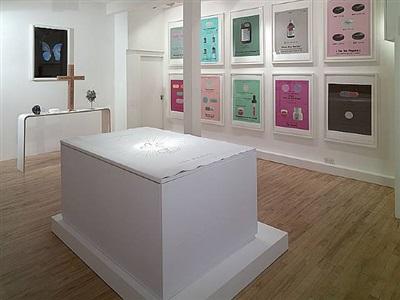 installation shot 1 by damien hirst