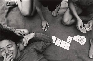 card game, zushi kanagawa by shomei tomatsu