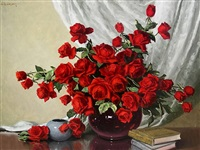 red roses by a.d. greer