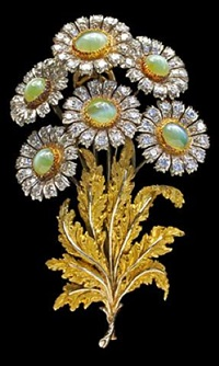 exquisite floral brooch by mario buccellati