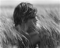 grant drowning in wheat, prince edward island by bruce weber