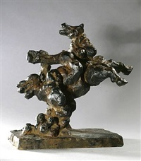 variation on the theme of the rape of europa vii by jacques lipchitz