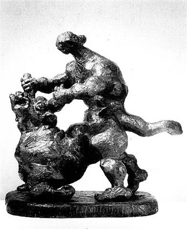 theseus and the minotaur by jacques lipchitz