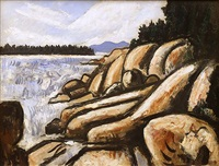 city point, vinalhaven by marsden hartley