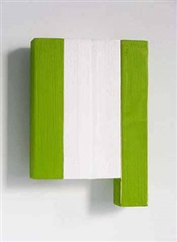 #4 (green and white) by david goerk