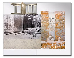 pegasits / roci usa (wax fire works) by robert rauschenberg