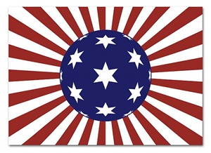 us flag # 27 by hayato matsushita