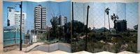 painting the divide (famagusta) by mark wallinger
