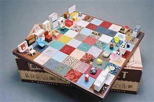 modern chess set by rachel whiteread