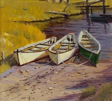 three dories by caleb stone