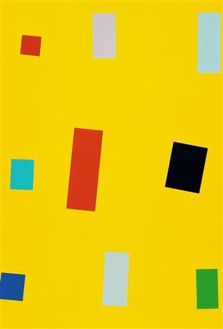 Gelbe Fahne by Imi Knoebel on artnet