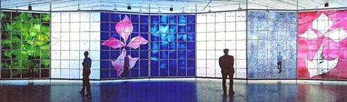 brian clarke, the glass wall by brian clarke