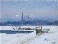 ice cutters, longueuil by maurice galbraith cullen