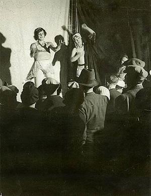 conchita's dance, boulevard auguste-blanqui, c. 1931 by brassaï