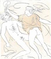 la danza di orfeo by giacomo manzù