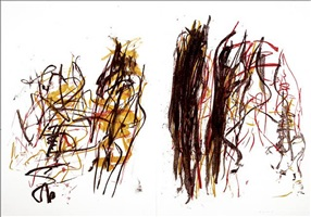 trees i by joan mitchell