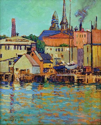 gloucester wharf by harriet randall lumis