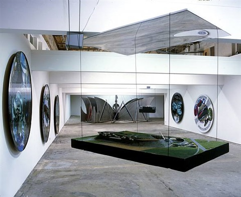 installation view at kenny schachter rove by vito acconci