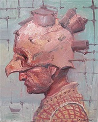 serie-retrato loco no. 4 by roberto fabelo