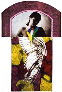 victoria de samotracia (afro-taina) by juan sanchez