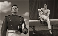 aaron jackson, gymnast, usma #1 & #2 by anderson & low